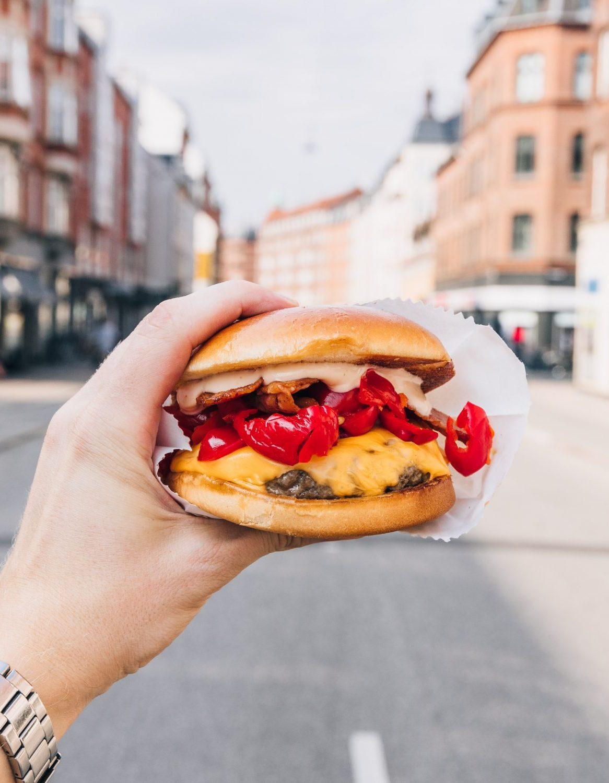 cheese burger catering københavn
